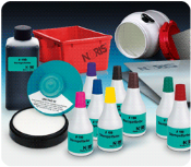 #007 Noris stamp ink marks nearly all surfaces, both porous and non-porous. Great for marking many different materials and even stamping metal and plastic with self-inking stamps or flash stamps! Fast shipping.