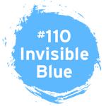#110UV invisible endorsing ink shines under UV light. It is suitable for marking with rubber stamps on uncoated paper, corrugated, and human skin.
