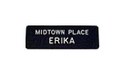 Many combinations of badge color and font styles. Low prices, fast delivery. Give yourself the professional edge with custom name badges from Indiana Stamp. sales@indianastamp.com
