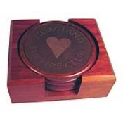 personalized coaster set engraved coaster set engraved wooden