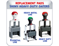Replacement Pads for Shiny Heavy Duty/Essential Lines