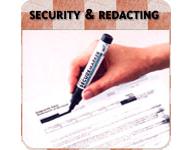 Security & Redacting