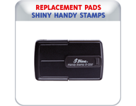 Replacement Pads for Shiny Handy Stamps