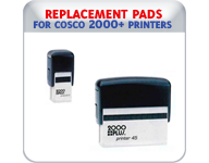 Replacement Pads for Cosco 2000+ Printers