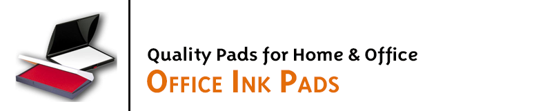 Long lasting quality stamp pads for home and office use come in many sizes. Economical pads are great for rubber stamping and are ready to ship. Order online!