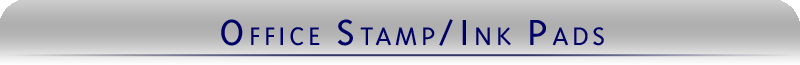 Long lasting stamp pads for office use from Indiana Stamp come in many sizes. In stock and ready to ship same day.