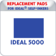 Indiana Stamp sells replacement pads for Ideal brand stamps, including the Ideal P5000 Date Stamps.