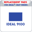 Indiana Stamp sells replacement pads for Ideal brand stamps, including the Ideal P9100 Date Stamps.