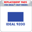 Indiana Stamp sells replacement pads for Ideal brand stamps, including the Ideal P9200 Date Stamps.