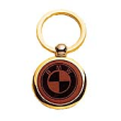 "47511 - PK99 - 47511 PK99 - 1-1/2"" Leather/Brass Key Chain"