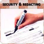 Security & Redacting