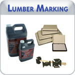Industrial grade lumber marking products at competitive prices,including ink,markers,brushes,fountain rollers,velcro,hammer heads,stencil ink. Please email us at sales@indianastamp.com with questions.