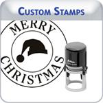 Custom Christmas Stamps