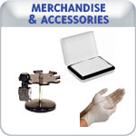 Indiana Stamp sells stamp Accessories like replacement ink pads,stamp pads, and disposable gloves