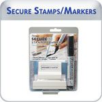 Secure Stamps & Markers