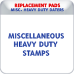 Replacement Pads for Miscellaneous Self-Inking Stamps