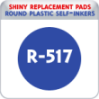 Indiana Stamp sells the complete line of Shiny brand products, including R-517 replacement pads.