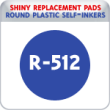 Indiana Stamp sells the complete line of Shiny brand products, including R-512 replacement pads.