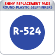 Indiana Stamp sells the complete line of Shiny brand products, including R-524 replacement pads.