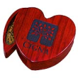 rosewood finished keepsake box, heart, personalized, gifts, engraved products