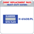 Indiana Stamp sells the complete line of Shiny brand products, including H-61608 replacement pads.