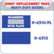 Indiana Stamp sells the complete line of Shiny brand products, including H-6510, H-6510/PL replacement pads.