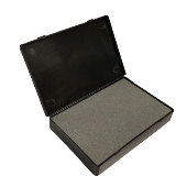 Industrial Ceramic Stone Stamp Pads bring just enough ink to surface for crisp impression with fast-drying inks. Great for inspection stamps. Buy online!