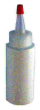 Indiana Stamp sells several sizes of empty ink bottles approved for use with industrial grade inks.