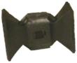 36215 2-WAY RUBBER HEAD W/VELCRO - 36215 2-Way Rubber Head  with Velcro Hook