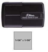 Buy Shiny S-Q32 Self-Inking Handy Stamps at Indiana Stamp in Fort Wayne, Indiana