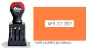 """Indiana Stamp sells Shiny S-36002 non self-inking die plate daters at competitive prices. 1-3/8""""x2-13/16"""" die area"""