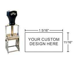 Comet Heavy Duty Plain Self Inking Stamps are great for industrial stamping. Metal frame & parts stand up to wear and tear. Order & design CPL20 rubber stamps online!