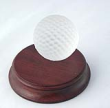 48165 CRYSTAL GOLF BALL PAPERWEIGHT - 48165 Crystal Golf Ball Paperweight