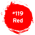#119 Red