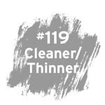 #119 Cleaner/Thinner