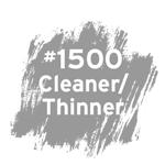 #1500 Cleaner/Thinner