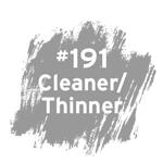 #191 Cleaner/Thinner