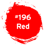 #196 Red