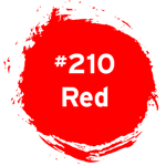 #210 Red