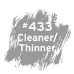#433 Cleaner/Thinner