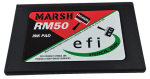"Use Marsh RM50 Rolmark 4"" x7"" Ink Pad with Marsh Rolmark Ink and Rollers for dependable, economical stenciling."