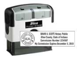 Indiana Stamp sells many notary products, including custom self-inking stamps, at competitive prices.