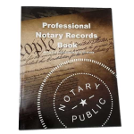 Professional Notary Records Book™ makes record-keeping easy and adds a layer of protection and professionalism. Meets or exceeds Notary records requirements for all 50 states.