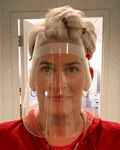 Deluxe Acrylic Face Shield offers a physical barrier that covers entire face. Made in & ships from Fort Wayne, Indiana. Buy online!