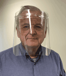Deluxe Acrylic Face Shield provides a clear physical barrier that covers the entire face. Made in & ships from Fort Wayne, Indiana. Buy online!