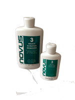 Novus No. 3 removes heavy scratches and abrasions from acrylics and most plastics. Great for sneeze guards, transparent barriers, and face shields.