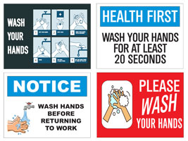 Floor & Window Labels, Stickers, Decals help promote social distancing and safety guidelines at you business. Made in & ships from Fort Wayne, Indiana. Buy online!