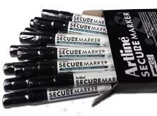 Affordable redacting products to permanently obscure your private data. Secure Markers, Stamps, and Refill Ink.