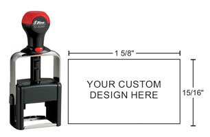 Shiny H-6000 Heavy Duty Self-Inking stamp for durability. Plastic and metal construction create a high quality rubber stamp for tough jobs. Order online!