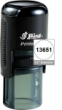 Indiana Stamp carried the complete line of Shiny brand stamps, inlcuding this round R-512 self-inking hand stamp.